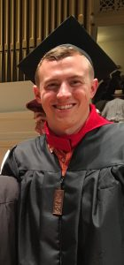 Barry Mangold Graduation Photo