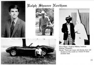 northam yearbook photo