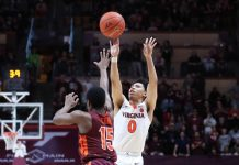 uva basketball standout Kihei Clark hits game winning three