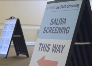 saliva screening covid containment improvements